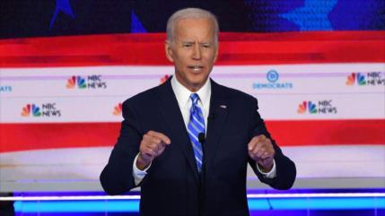 """Biden: Trump metió a EEUU en """"una situación horrible"""""""