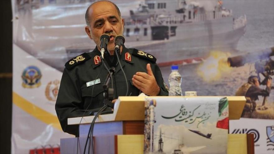 El general de brigada Ali Abdolahi Aliabadi, coordinador adjunto de Estado Mayor de las Fuerzas Armadas de Irán.