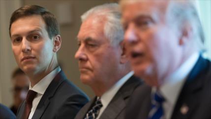 Tillerson desvela verdadero poder de Kushner en la Casa Blanca