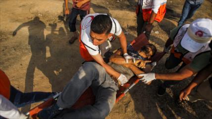 Fuerzas israelíes hieren a 50 palestinos en Marchas del Retorno