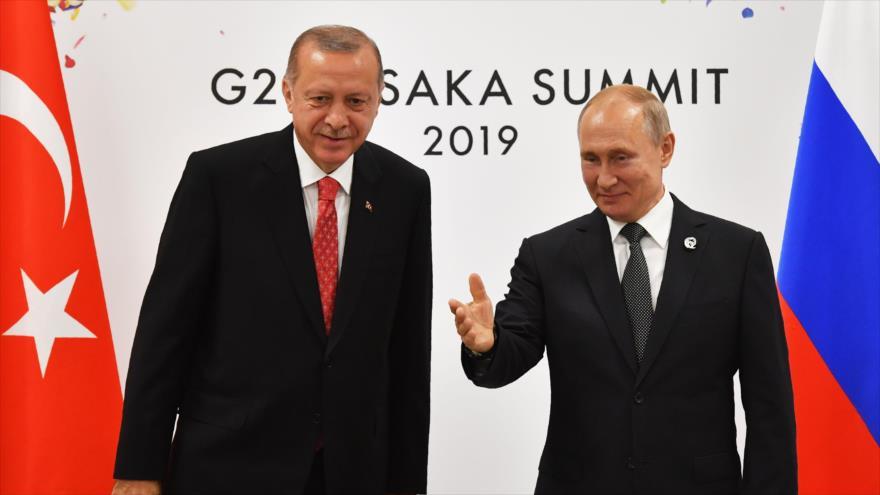 "Erdogan aboga por ""fabricación conjunta de misiles"" con Rusia | HISPANTV"