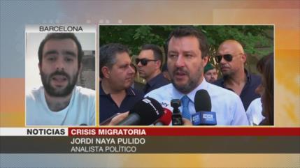 Pulido: Italia busca criminalizar la lucha a favor de los migrantes