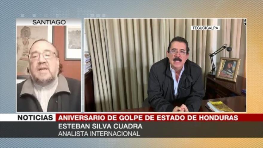 Silva Cuadra: Zelaya era un peligro para EEUU | HISPANTV