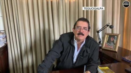 """Zelaya: Hernández está en el poder porque """"EEUU ama a su dictador"""""""