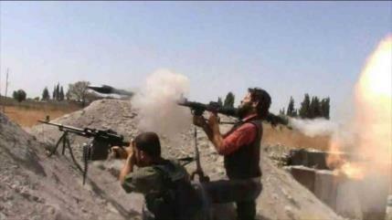 Vídeo: Terroristas sufren graves pérdidas en ataques fallidos a Hama