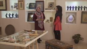 Irán: 1- Arte en Qazvin 2- Naturaleza de sal
