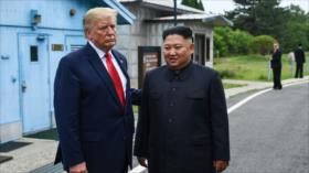 Trump, Kim agree to resume nuclear talks at historic DMZ meeting