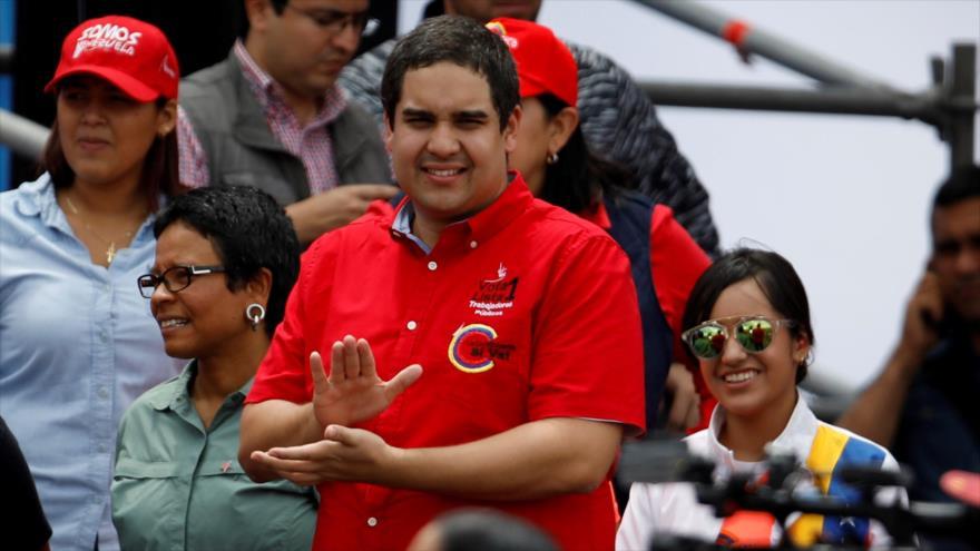 Hijo de Maduro: Es un 'honor' el haber sido sancionado por EEUU