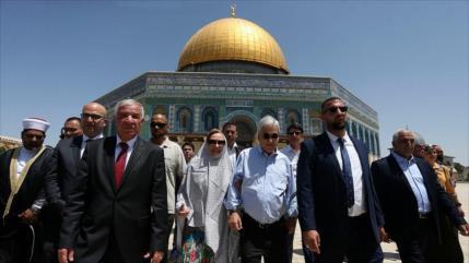 Israel detiene a ministro palestino por visita de Piñera a Al-Aqsa