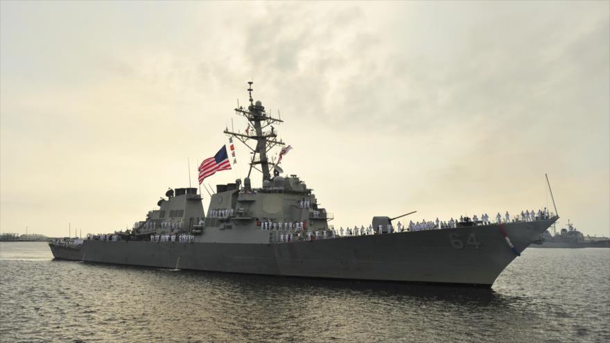 Rusia vigila destructor USS Carney de EEUU en el mar Negro | HISPANTV