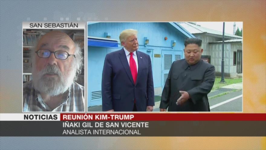 'Corea del Norte hizo que Trump se pusiera la piel de cordero'