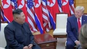 Trump y Kim dan un histórico paso al frente