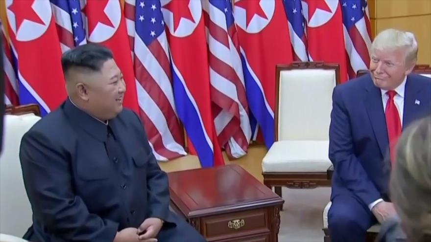 Trump y Kim dan un histórico paso al frente | HISPANTV
