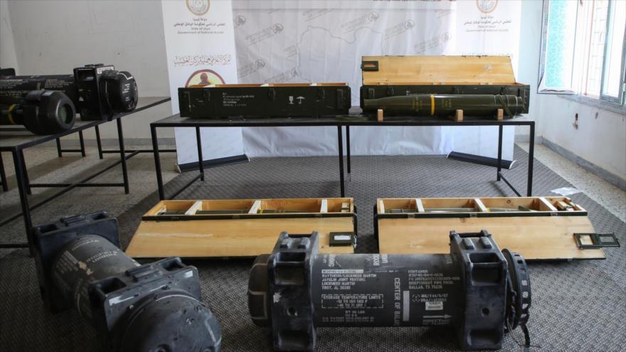 Incautan misiles de EEUU en una base de fuerzas de Haftar en Libia | HISPANTV