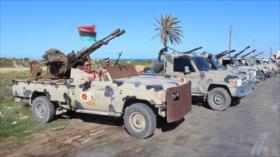 Fuerzas de Haftar dicen haber derribado un dron turco en Libia