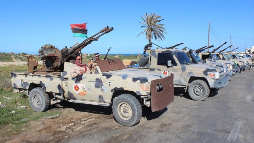 Fuerzas de Haftar dicen haber derribado un dron turco en Libia | HISPANTV