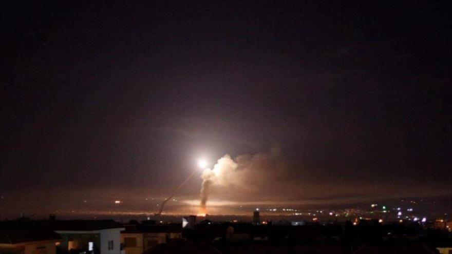 Vídeo: Siria repele ataque áereo de Israel contra Homs y Damasco | HISPANTV