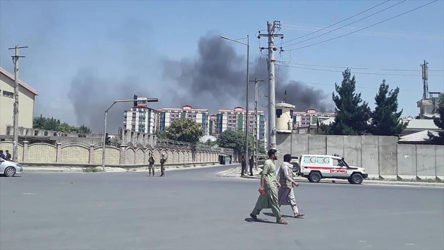 Ofensiva de Talibán dejó decenas de muertos en Kabul | HISPANTV