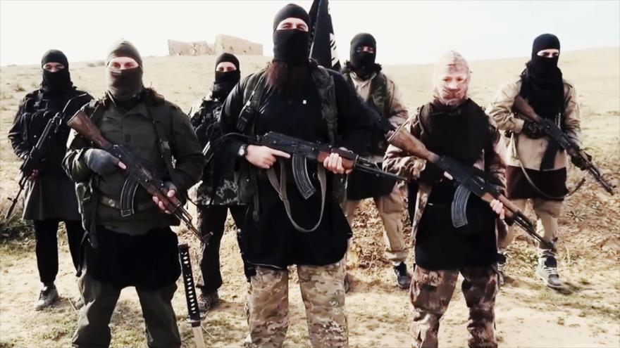 Miembros extranjeros del grupo terrorista EIIL (Daesh, en árabe).