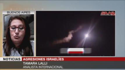 Ataques israelíes pretenden impedir que Siria retome su territorio