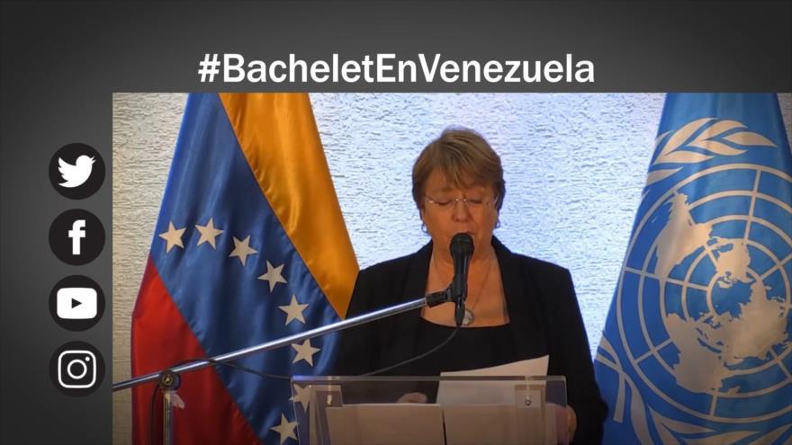 Etiquetaje: ¿Qué vio Michelle Bachelet en Venezuela?