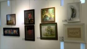 Teherán acoge la exposición de obras de artistas discapacitados