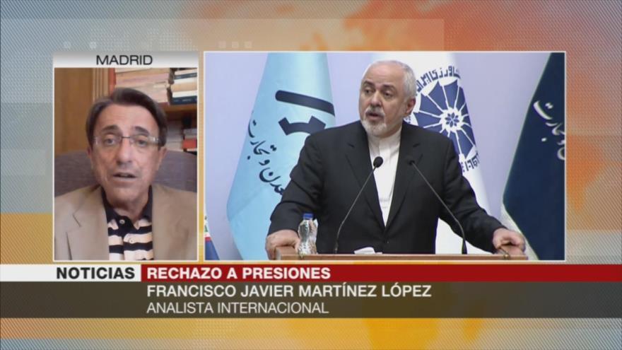 Martínez: Irán está en su derecho de reducir compromisos nucleares