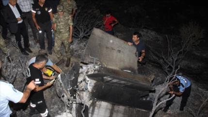 Misil de Siria cae 500 km más allá en Chipre tras ataque israelí