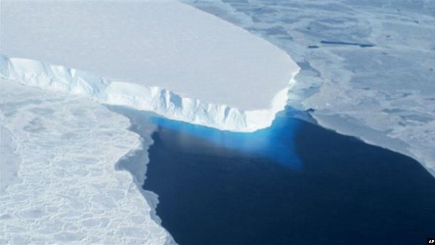 Hielo de la Antártida baja a mínimo histórico en 40 años