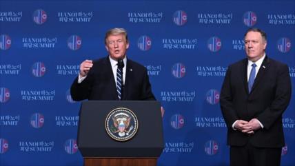 Doble rasero nuclear de Trump; Irán está jugando con fuego