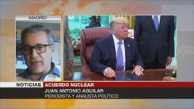 """Aguilar: """"La Unión Europea es una subsidiaria de EEUU"""""""