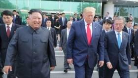 Moon: Encuentro de Trump y Kim posibilita fin de las hostilidades