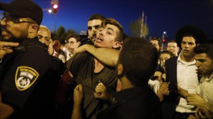 Protesta contra la violencia policial israelí deja 50 heridos
