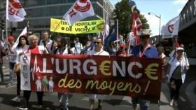 Las urgencias hospitalarias de Francia están de huelga
