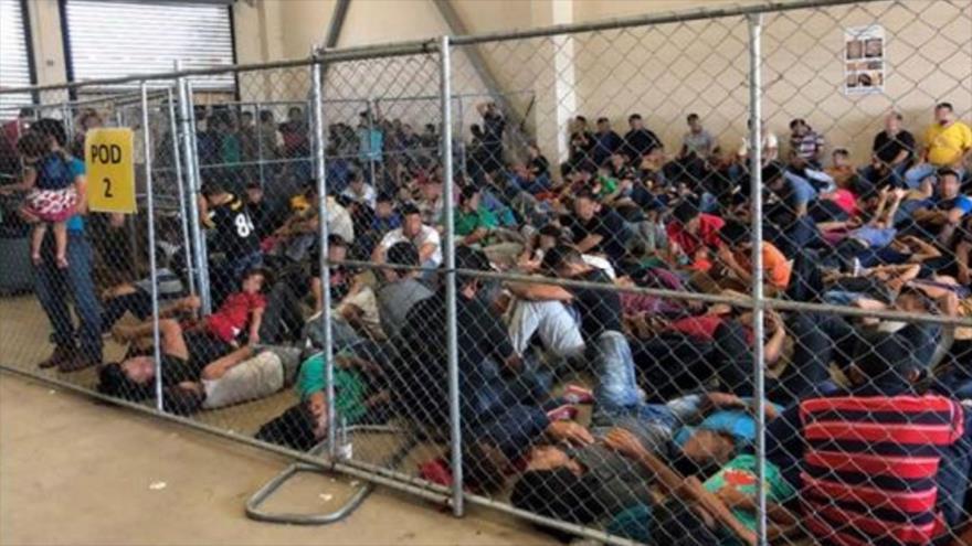 Informe: Se eleva a 124 % cifra de migrantes detenidos en EEUU | HISPANTV