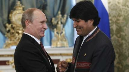 Morales: Rusia garantiza la no intervención de EEUU en A. Latina