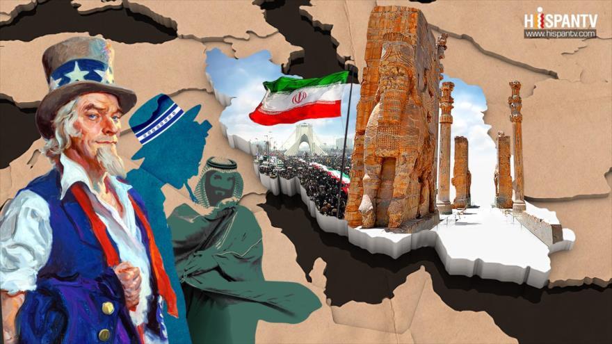 Irán enfrenta un triple enemigo