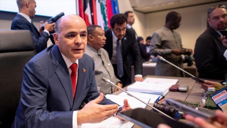 Venezuela condena sanciones de EEUU contra miembros de OPEP