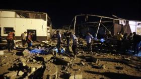 EEUU no respalda condena contra centro migratorio en Libia