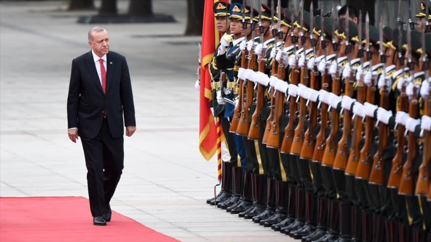 Erdogan tacha de 'robo' la negativa de EEUU de entregar cazas F-35 | HISPANTV