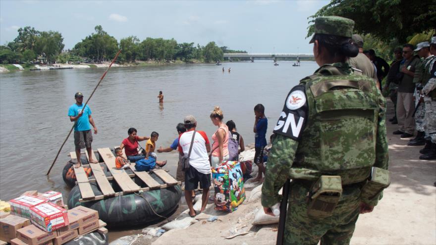 México refuerza la Guardia Nacional contra el flujo migratorio