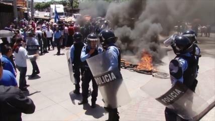 Maestros hondureños vuelven a protestar contra Gobierno