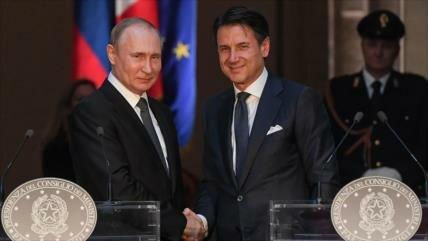 Rusia espera ayuda de Italia para normalizar sus lazos con la UE