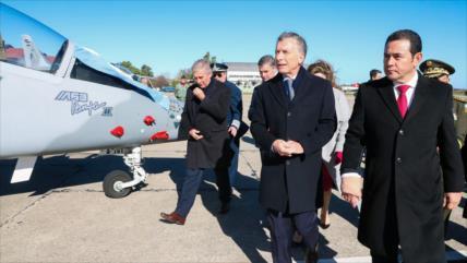 Polémica en Guatemala por compra de aviones militares a Argentina