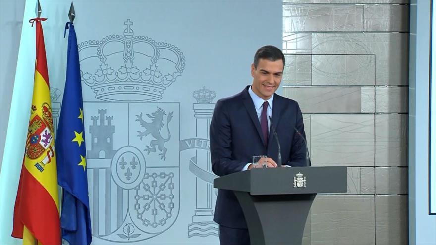 Sánchez rechaza un Gobierno de coalición en España con Iglesias | HISPANTV