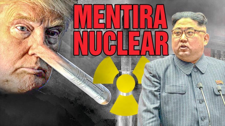 Detrás de la Razón; El hombre con el misil más grande: Trump vs Kim ¿quién ganará?