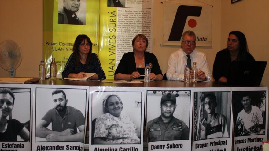 Víctimas de guarimbas venezolanas rechazan informe de Bachelet | HISPANTV