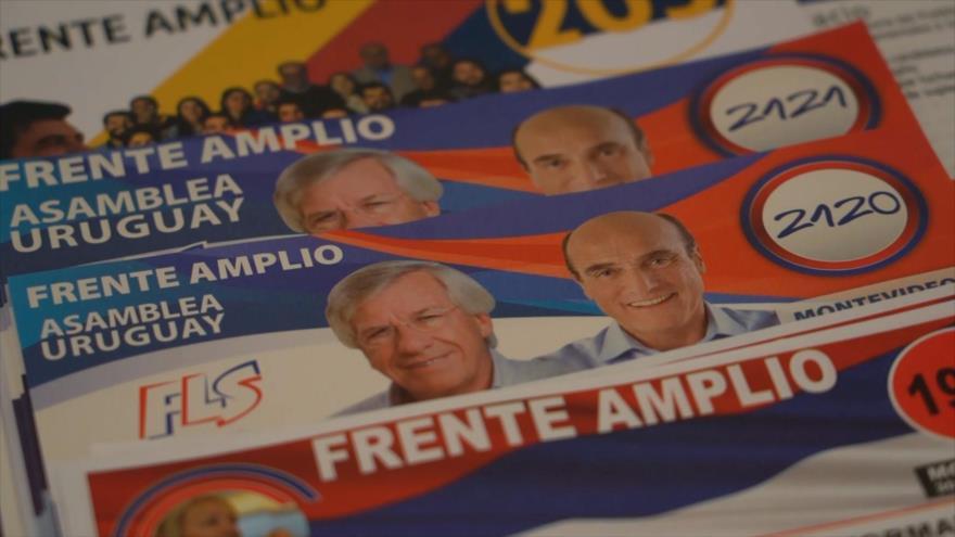 Cuenta regresiva para las presidenciales de octubre en Uruguay