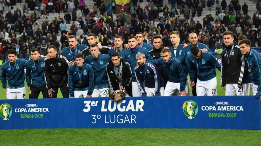 Argentina gana a Chile y logra tercer puesto en Copa América 2019 | HISPANTV
