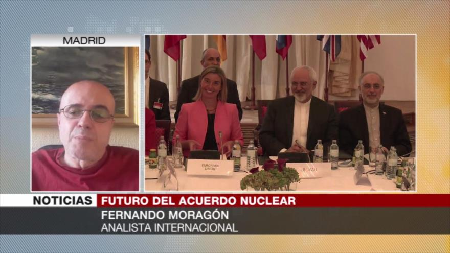 Moragón: Si Irán sale del acuerdo, Europa será la más perjudicada